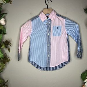 NWT Kids Ralph Lauren Button Down